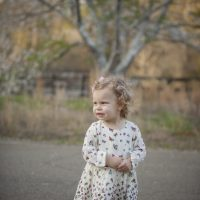 Megan is turning 2! …and the Cherry Blossoms in Canton, GA