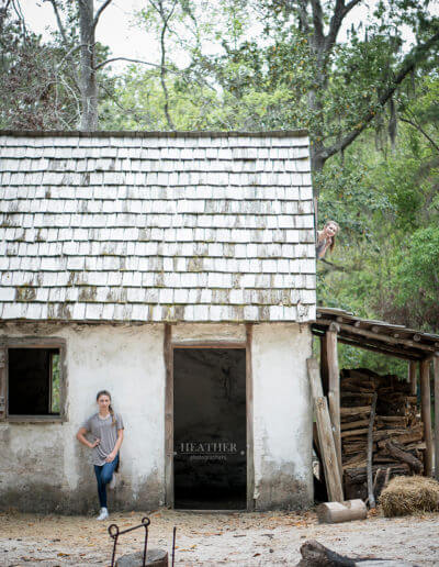 Savannah GA Wormsloe oak lined driveway