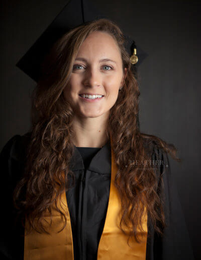 Studio Senior cap & gown ga