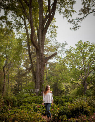 Barnsley Gardens Resort Senior Portraits GA
