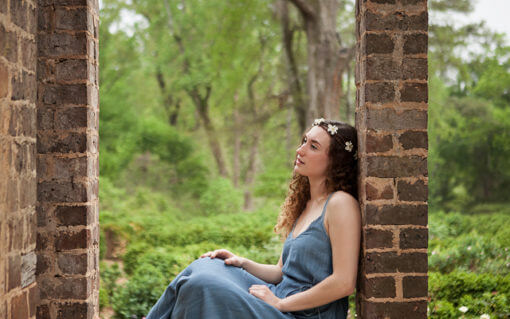 Senior Portraits at Barnsley Gardens & Resort – Adairsville, GA