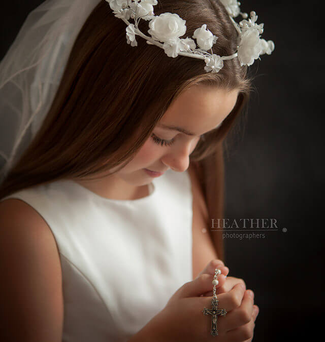 Leah's First Holy Communion Portraits