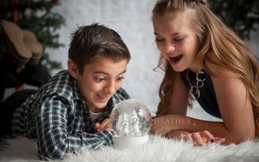 Holiday Studio Portraits