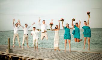 Nancy + Mike's Jamaican Beach Wedding – Montego Bay, Jamaica