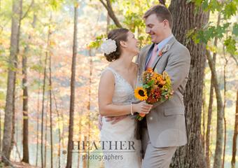 Chelsea + David's Georgia State Park Wedding in Cartersville, GA – Red Top Mountain