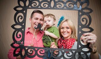 Grayson's 1st Birthday Party Photographer – Canton, GA