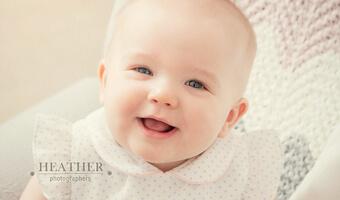 6 month old Laney In-Home Portraits – Atlanta, GA