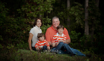 Ashley & Jody's Autumn Family Portrait Session – Canton, GA