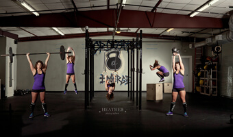 Nicole's 1 year Anniversary Crossfit Photo Shoot – Woodstock, GA