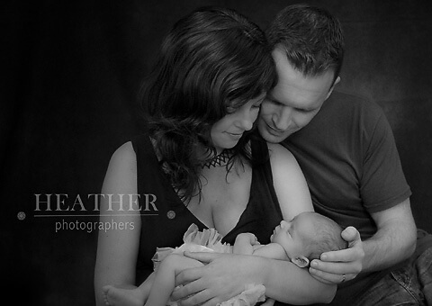 Newborn Sienna's First Photo Shoot – Atlanta, GA